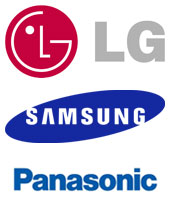 Flat Panel Screens for Video Conferencing and Telepresence: LG, Samsung, and Panasonic