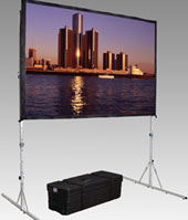Portable Rear Projection Screen Rental